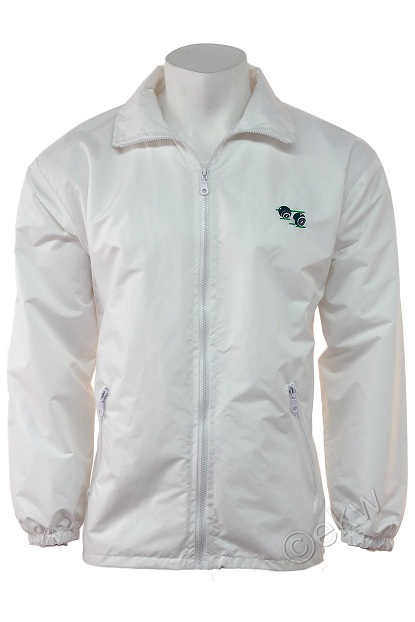 Waterproof Mesh Lined Polyester Lawn Bowling Jacket Sizes Small - 5XL