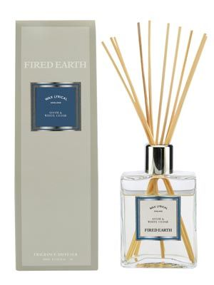 Assam and White Cedar Fired Earth Reed Diffuser - 200ml