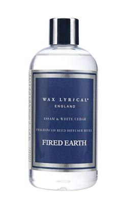 Assam and White Cedar Fired Earth Reed Diffuser Refill - 250ml