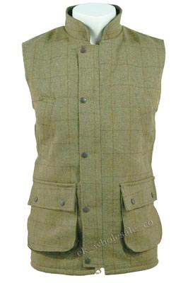 Derby Tweed Children's  Waistcoat / Gilet / Body Warmer - Age 2/3 - 13/14
