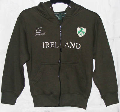 Ireland Live For Rugby Toddlers Hoody - Age 1-2