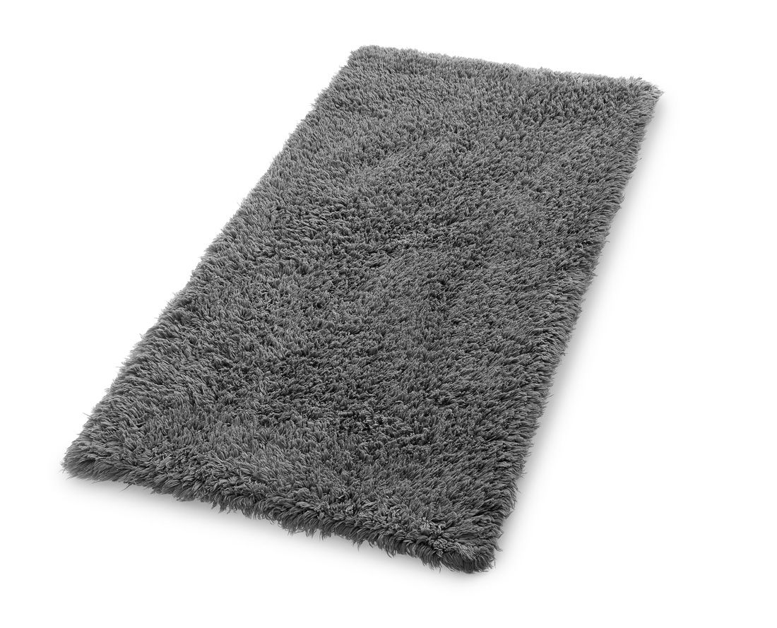 Luxurious Reversible Single Bath Mat 60cm X 90cm Slate Grey