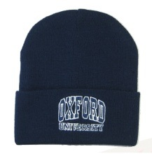 Oxford University Navy Ski Hat