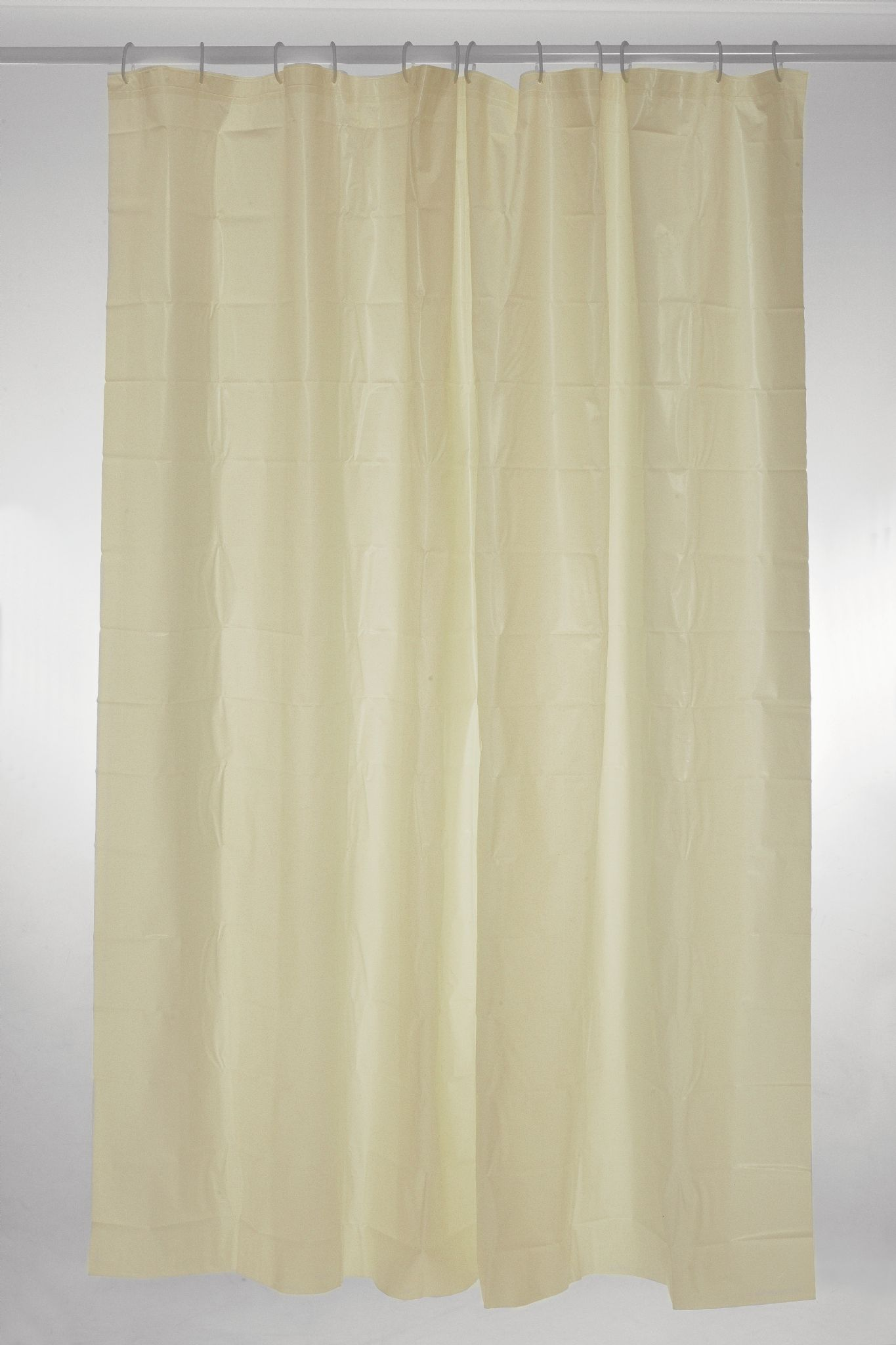 Plain Polyester Shower Curtain 180 X 200cm