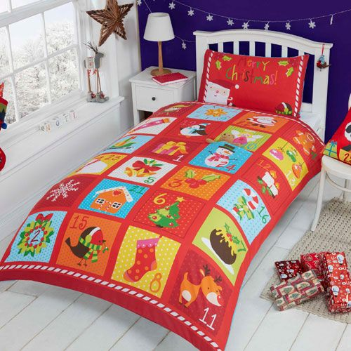 Rapport Advent Panel Duvet Set - Single