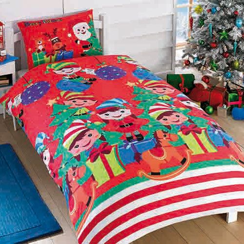 Rapport Elf Party Duvet Set - Single