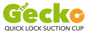 The Gecko - Quick Lock Suction Cup