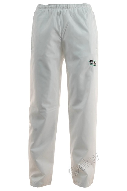 White Bowling Waterproof Trousers Sizes Small 5xl